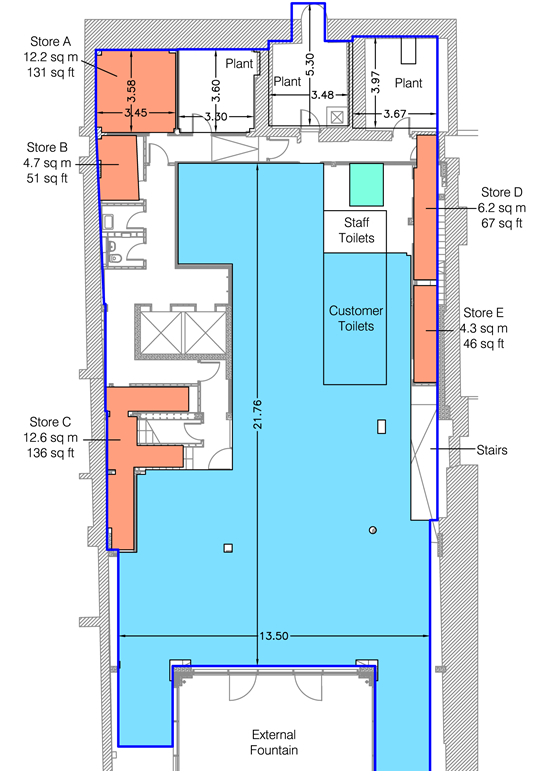 44 45 great marlborough street floor plan for Marlborough house floor plan