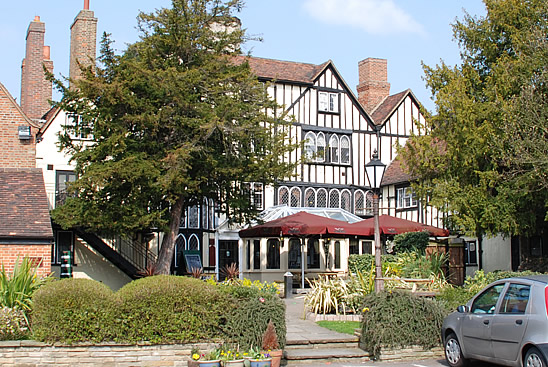 Kings Head, Chigwell - Rear View